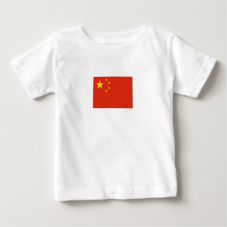 Patriotic Chinese Flag Baby T-Shirt