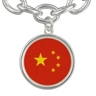 Patriotic Chinese Flag Bracelet