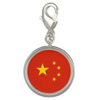 Patriotic Chinese Flag Charm