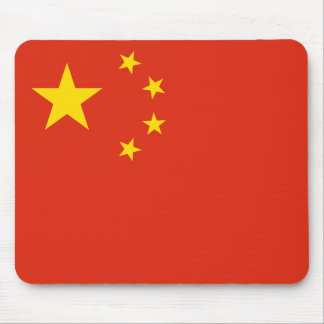 Patriotic Chinese Flag Mouse Pad