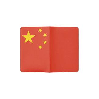 Patriotic Chinese Flag Pocket Moleskine Notebook