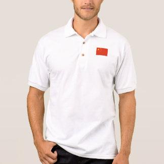 Patriotic Chinese Flag Polo Shirt