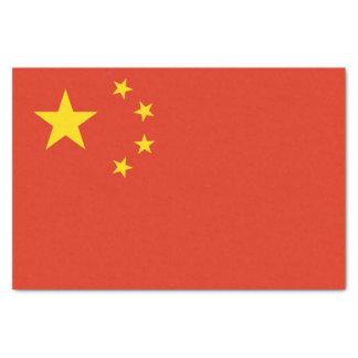 Patriotic Chinese Flag Tissue Paper