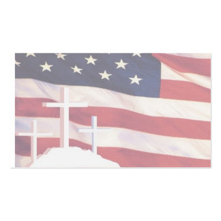 Patriotic Christian Business Cards