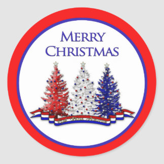 PATRIOTIC CHRISTMAS COLLECTION - STICKERS