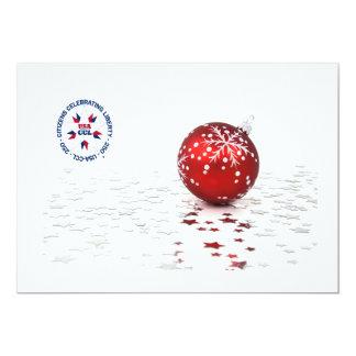 Patriotic Christmas Invite/Card - America's 250th Card