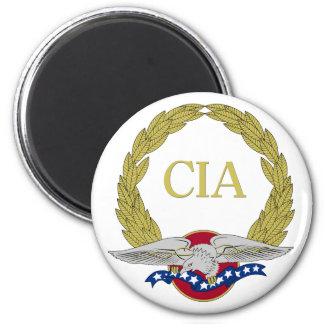 Patriotic CIA Wreath and Eagle Magnets