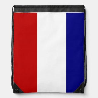 Patriotic Colors Drawstring Bag