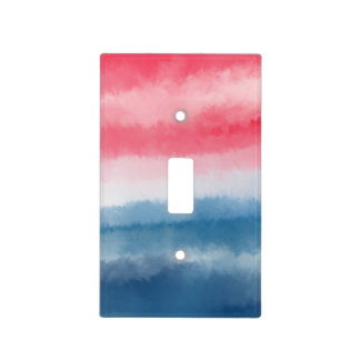Patriotic Colors Light Switch Cover