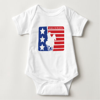 Patriotic Creeper for babies, Patriotic, July 4th