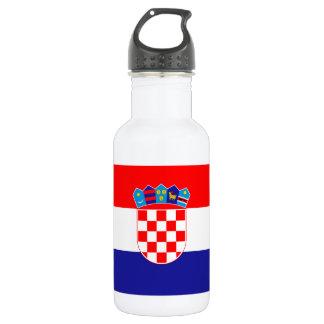 Patriotic Croatian Flag 532 Ml Water Bottle