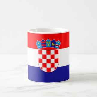 Patriotic Croatian Flag Coffee Mug