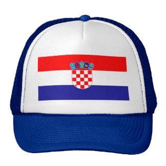 Patriotic Croatian Flag Trucker Hat