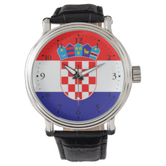 Patriotic Croatian Flag Watch