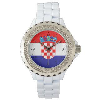 Patriotic Croatian Flag Watch