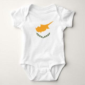 Patriotic Cyprus Flag Baby Bodysuit