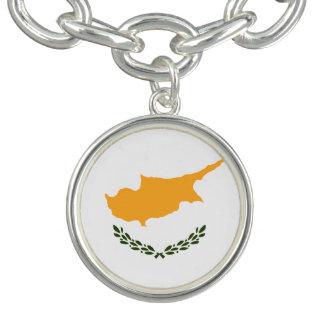 Patriotic Cyprus Flag Bracelet