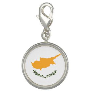Patriotic Cyprus Flag Charm