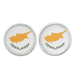Patriotic Cyprus Flag Cufflinks