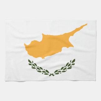 Patriotic Cyprus Flag Kitchen Towel
