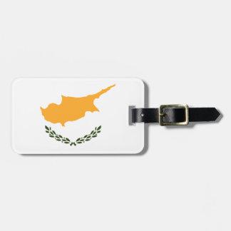Patriotic Cyprus Flag Luggage Tag