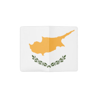 Patriotic Cyprus Flag Pocket Moleskine Notebook