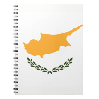 Patriotic Cyprus Flag Spiral Notebook