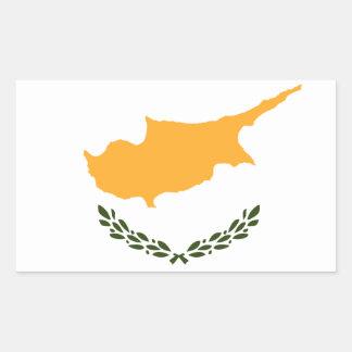 Patriotic Cyprus Flag Sticker