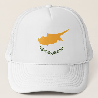 Patriotic Cyprus Flag Trucker Hat