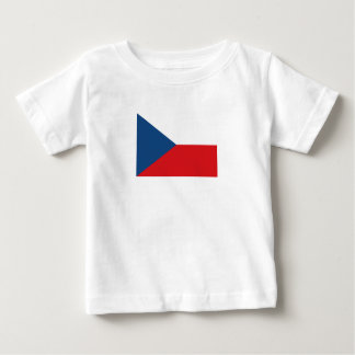 Patriotic Czech Republic Flag Baby T-Shirt