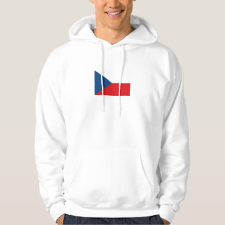 Patriotic Czech Republic Flag Hoodie