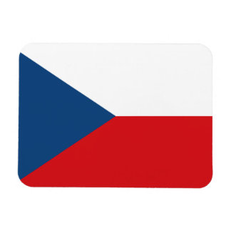 Patriotic Czech Republic Flag Magnet