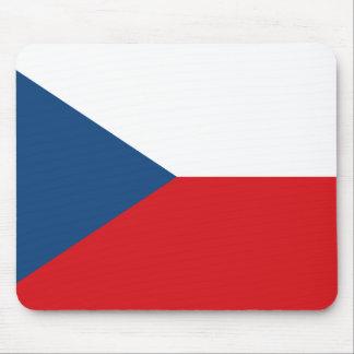 Patriotic Czech Republic Flag Mouse Pad