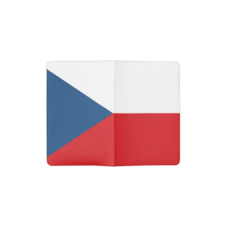 Patriotic Czech Republic Flag Pocket Moleskine Notebook