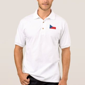 Patriotic Czech Republic Flag Polo Shirt