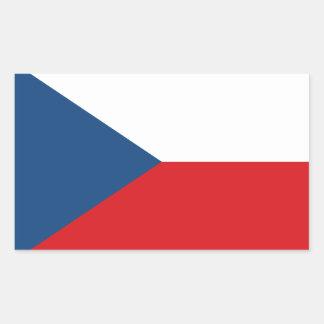 Patriotic Czech Republic Flag Sticker