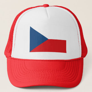 Patriotic Czech Republic Flag Trucker Hat