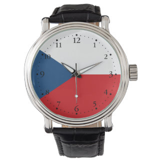 Patriotic Czech Republic Flag Watch