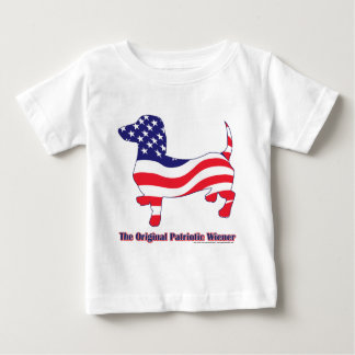 Patriotic Dachshund - Doxie Baby T-Shirt