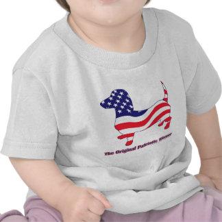 Patriotic Dachshund - Doxie T Shirts