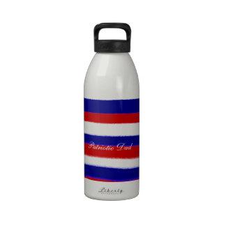 Patriotic Dad Water Bottle