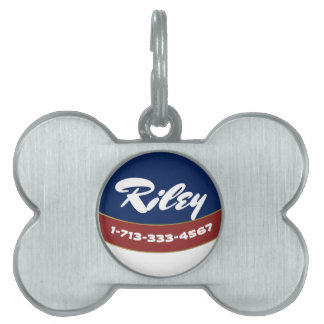 PATRIOTIC DOG NAME TAG, AMERICAN FLAG DOG NAME TAG PET NAME TAG
