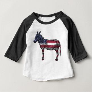 Patriotic Donkey Baby T-Shirt