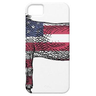Patriotic Donkey iPhone 5 Cases