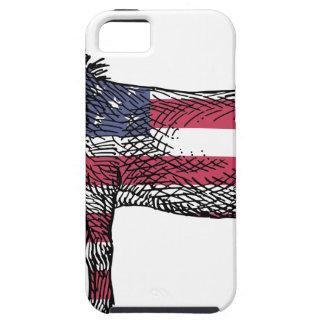 Patriotic Donkey iPhone 5 Cover