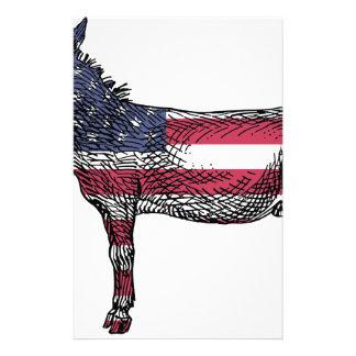 Patriotic Donkey Stationery