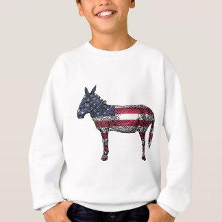 Patriotic Donkey Sweatshirt