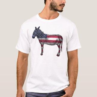 Patriotic Donkey T-Shirt