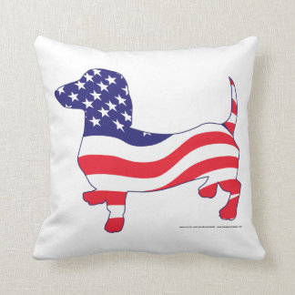 Patriotic Doxie Pillows