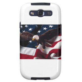 Patriotic Eagle American Flag Samsung Galaxy SIII Cover